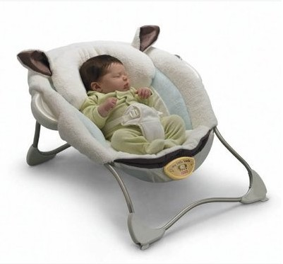 Luxury baby cradle swing electric baby rocking chair chaise lounge cradle chair seat rotating baby bouncer swing P2792(China (Mainland))