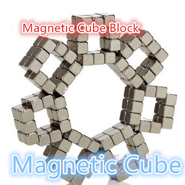 Free Stickers 4mm 216pcs Magnetic Puzzle Cube Powerful Copper Nicke Magnet Block Magics Cuber(China (Mainland))