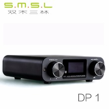 Buy SMSL DP1 HIFI Lossless Player AK4452 Audio USB DAC Decoding Digital Turntable Headphone Amplifier SD Card/Optical/USB Input DC9V for $115.99 in AliExpress store