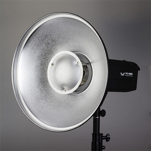 High Quality 42cm 16 54 Silver Beauty Dish With Bowens Mount font b Photo b font