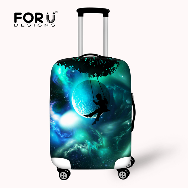 Novel Stretchable Travel Protective Waterproof Luggage Cover for 18-30 Inch Case Elastic Anti-dust Suitcase Cover With Zipper(China (Mainland))