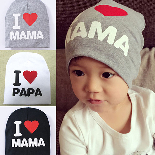 Hot Sale New Fashion Lovely Baby Infant Kid Boy Girl Love Heart Soft Warm Hat Knitted Caps Cotton Beanie For Children 009YI 5ATO