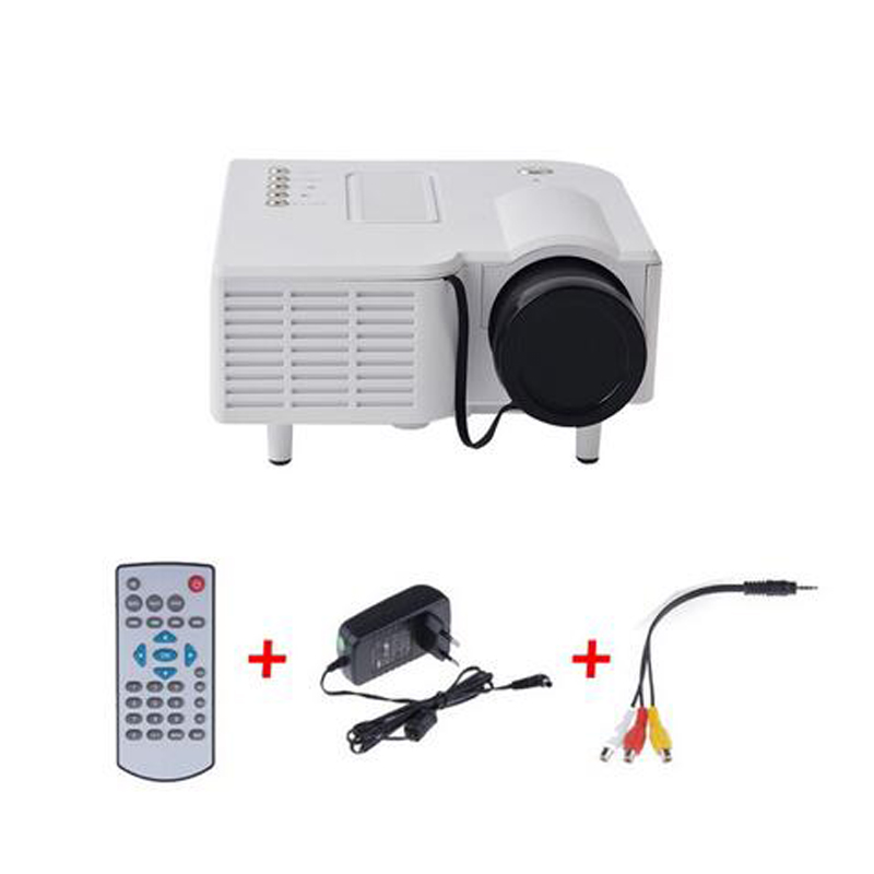 2015 uc28 portable led projector cinema theater pc laptop for Portable projector for laptop