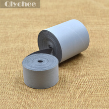 5m*5cm Safety Warning No Elastic Reflective Fabric Material Tape Iron On Ironing Reflective Material(China (Mainland))