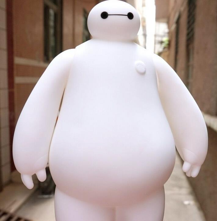 Big Hero 6 Baymax Robot PVC Action Figure Model Toy Doll Piggy Bank Kids Toys Gifts for Children 7 18CM<br><br>Aliexpress