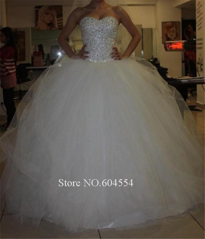 Сексуальный на складе платье белый / слоновая кость велюр вышивка бисером кристалл свадьба платье винтажный свадьба платье халат де Mariage