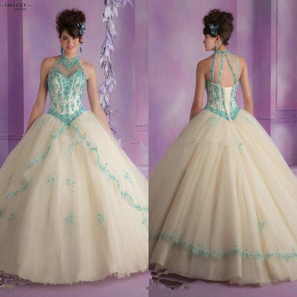 Zz70 увлекательный холтер рукавов пышное платье 2016 узелок с плеча до пышное платье