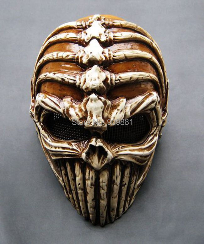 Demon Skull Mask Halloween Horror Demon Mask