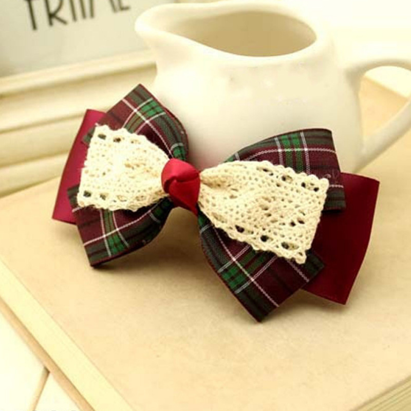 Korean jewelry hair ornaments handmade hair bow Wholesale Yiwu X191(China (Mainland))