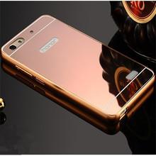 Новое поступление для Huawei чести 4C чехол роскоши зеркало металла алюминий + акриловые твердый переплет противоударный броня Fundas аксессуар капа
