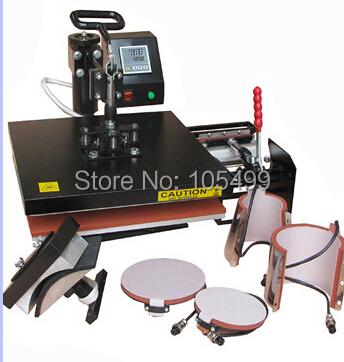 38*38 Tshirt/Mug/Cap/Plate Combo heat press machine,Heat press,Sublimation machine,Press machine,Heat transfer machine(China (Mainland))