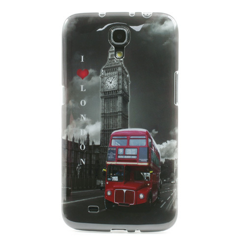 2014 Fashion Patterns for Samsung i9200 London Bus IMD Soft TPU Cover Case for Samsung Galaxy Mega 6.3 I527 I9200 Free Shipping(China (Mainland))