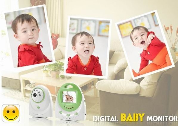 2.5 inch digital Baby Monitor with Two Way Audio and Temperature Alarm Moniteur bebe P1<br><br>Aliexpress