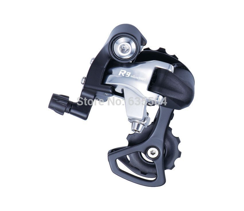Hot sale ! Free shipping Microshift groupset 9 / 8 Speed RD-R42S rear derailleur good quality city road bike parts<br><br>Aliexpress