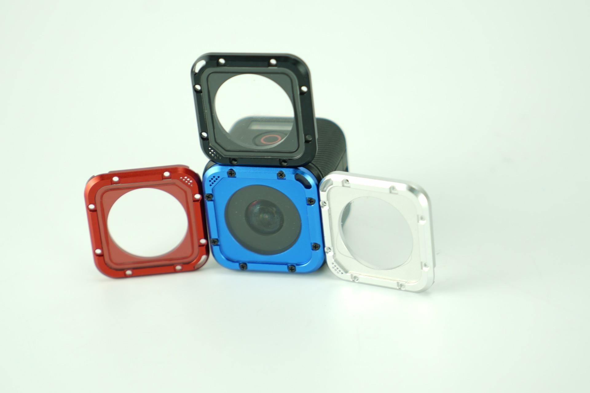 1 Piece Lens Cap Cover Case Aluminum Spare Parts For Gopro Hero 4 Session Camera Accessories Color Black Blue 16028TW/9 <br><br>Aliexpress