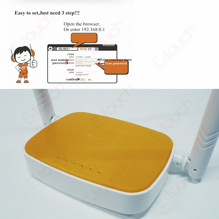 Free Shipping! Tenda N304 300Mbps Wifi Wireless Router Home Network Repeater Booster Broadband Access Point 802.11 g/b/n, ET541(China (Mainland))