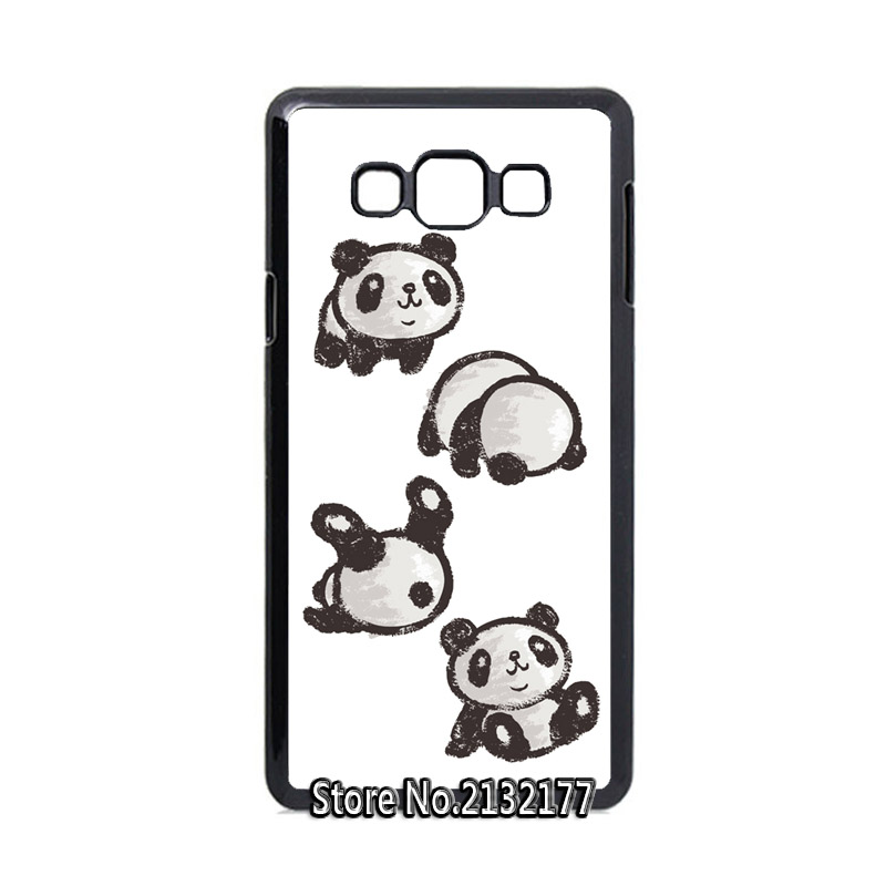 Rolling Panda cover case for samsung A3 A5 A7 A8 A9 J1 Ace J3 J5 J7 2016 mega 6.3(China (Mainland))