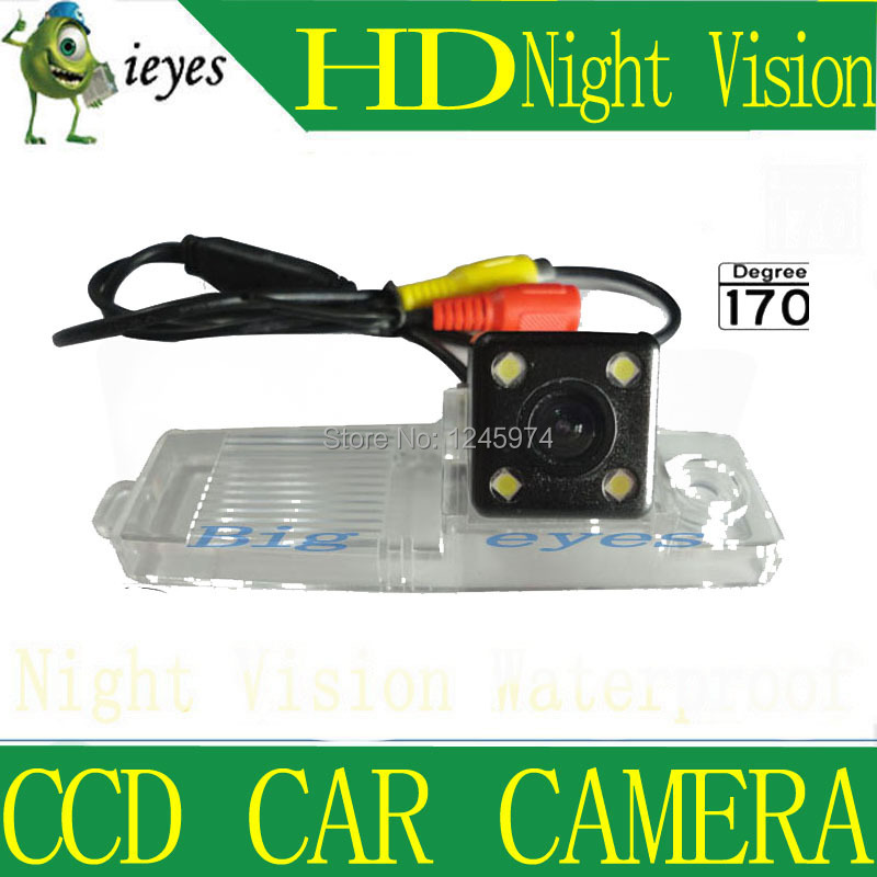 Free ship Waterproof 170 Night Vision Car Rear View Back Up Camera for Toyota Highlander Hover Coolbear Hiace Kluger Lexus RX300(China (Mainland))