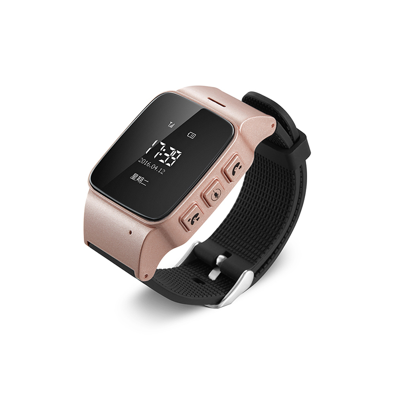 Dalos GPS tracker watch for seniors google map sos button gps bracelet personal tracker gsm gps locator(China (Mainland))