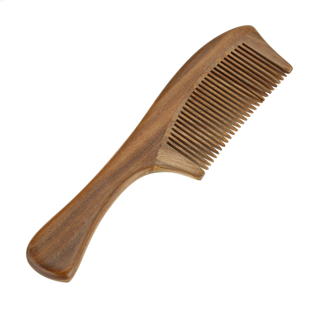 1 Pc Handmade Natural Sandalwood Wooden Comb Health Care Head Messager Hair Comb Hair Brush(China (Mainland))
