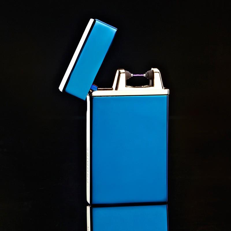 ถูก 10ชิ้น/ล็อตที่มีคุณภาพสูงUSB windproofเบาencendedor isqueiroซิการ์บุหรี่เครื่องมือarcเบาสำหรับผู้ชายสำหรับคนที่มีกล่อง