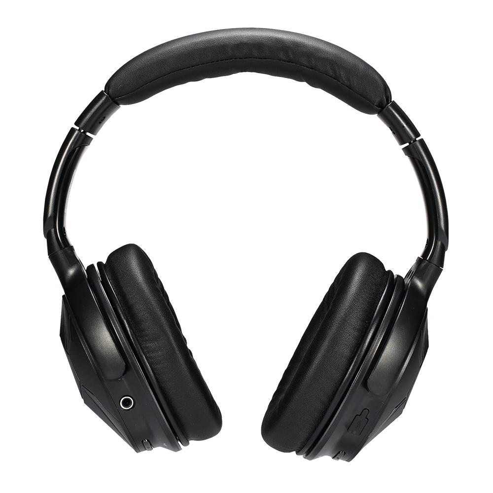 ausdom m04s wireless bluetooth headset powerful bass nfc wired headphones with audio cable. Black Bedroom Furniture Sets. Home Design Ideas