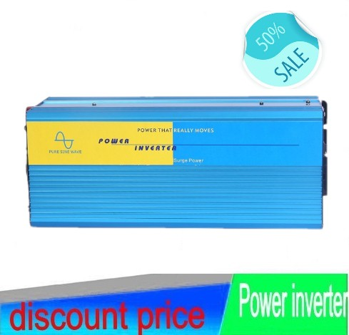 HOT SALE!! 5000W 5KW Pure Sine Wave Power off grid Inverter,peak 10000W solar/wind inverter with 12V Port 12V/24V/48V DC input 5(China (Mainland))