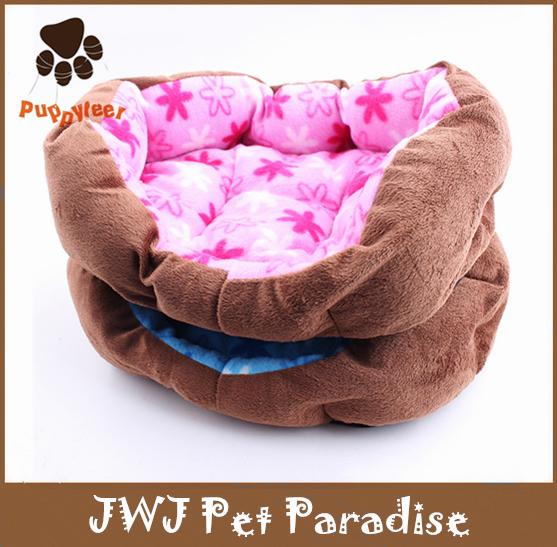 New Style Affordable Soft Fashion Puppy Hot Sale Luxury Pet Dog Beds(China (Mainland))