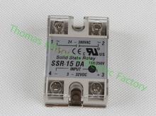 Buy solid state relay SSR-15DA 15A actually 3-32V DC TO 24-380V AC SSR 15DA relay solid state for $1.80 in AliExpress store