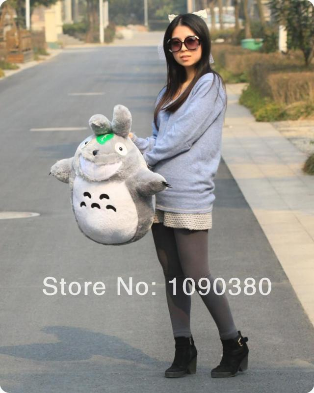 60CM Totoro Plush Toys Bay Favourite Lively Totoro Dolls & Stuffed Toys For Chilren Classic Toys Various Size Wholesale(China (Mainland))
