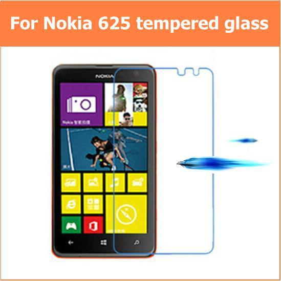 New For NOKIA Lumia 625 625h Premium Tempered Glass Anti-shatter explosion proof LCD Screen Protector Films For Nokia Lumia 625(China (Mainland))
