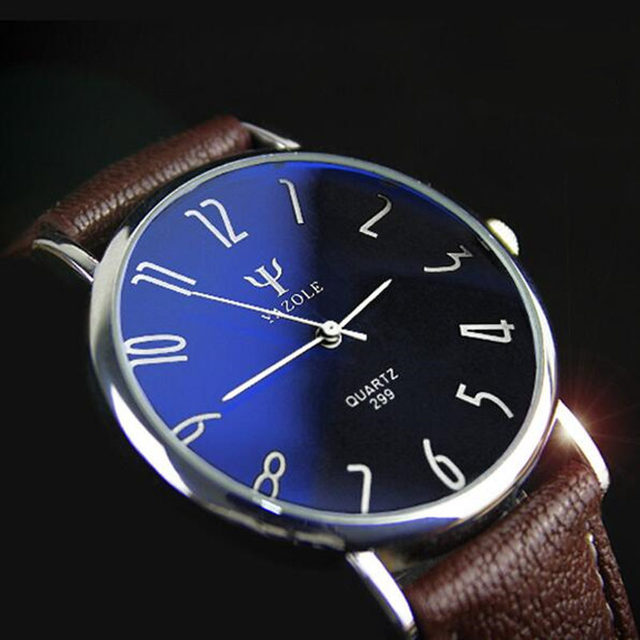 Yazole люксовый бренд кварцевые часы свободного покроя мода кожаные изделия reloj masculino мужчин женщин часы бесплатная доставка спорт наручные часы