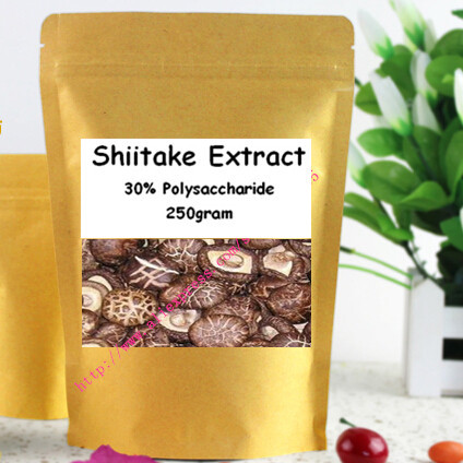 250gram 100% Nature Shiitake Mushroom(Lentinula Edodes) Extract Powder 30% Polysaccharide healthy for immune system booster<br><br>Aliexpress