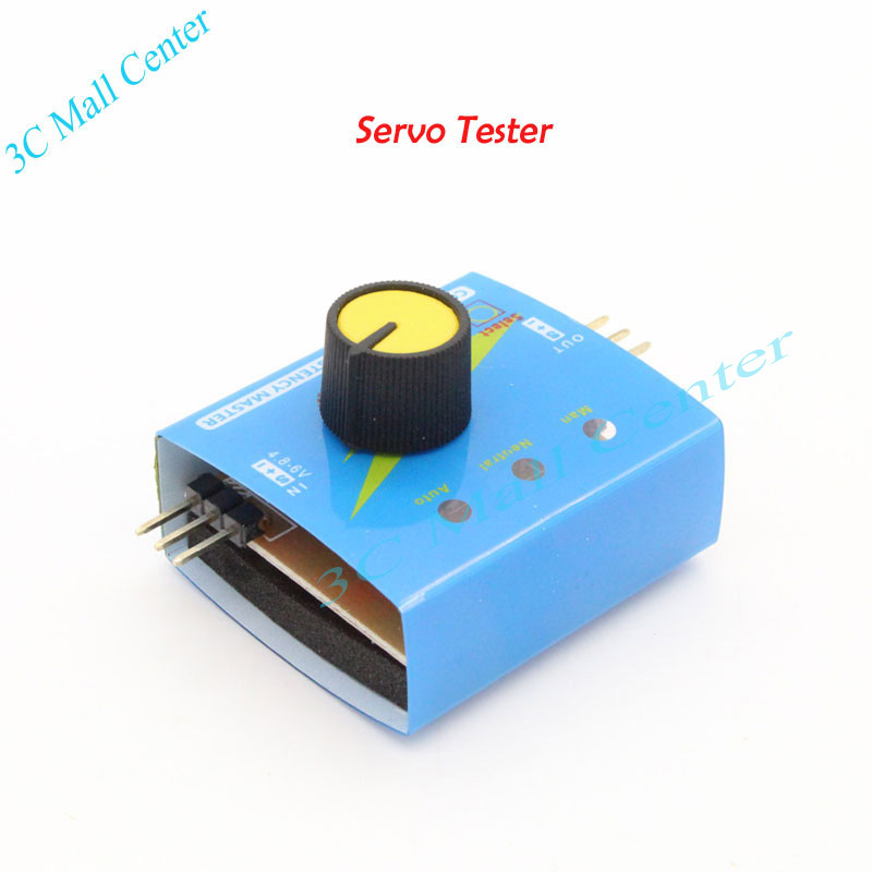 Servo Tester Gear Test CCPM Consistency Master Checker 3CH 4.8-6V with Indicator Light(China (Mainland))