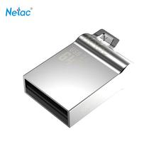 Netac Original U289 USB 2.0 Flash Drive 32GB 16GB Pen Drive Mini Memory Stick Pendrive U Disk Thumb Drives Full Metal Material(China (Mainland))