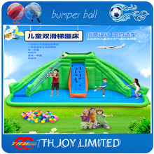 6.9*4*3.8mh backyards residential giant inflatable water slide with pool,inflatable pool slide for kids(China (Mainland))