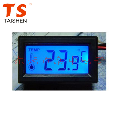 Фотография Blue backlight with water proof probe case electronic thermometer digital thermometer