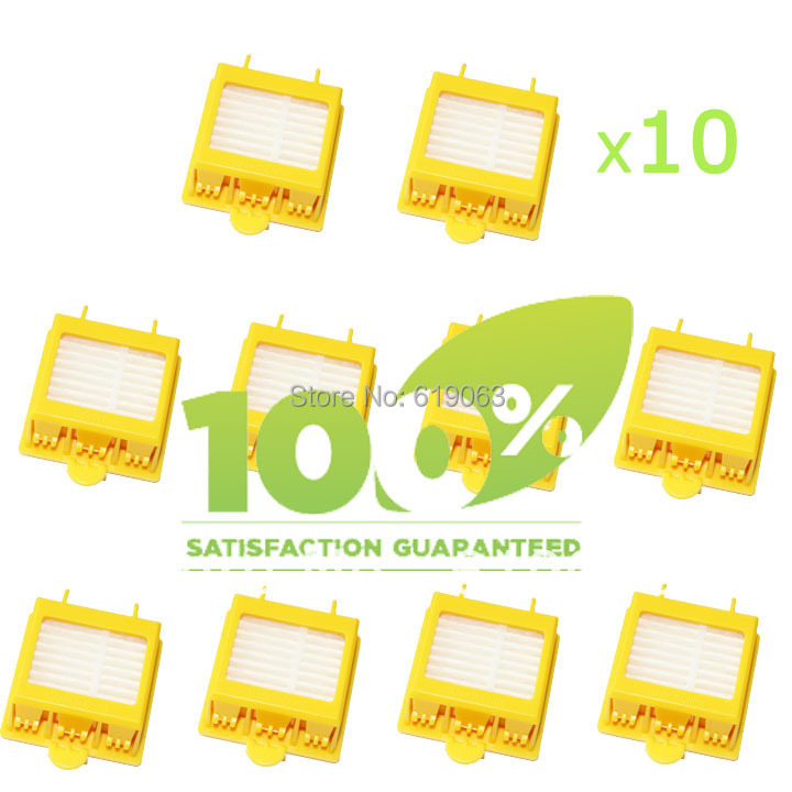 10 Piece Replacement Filter for iRobot Roomba 700 Series 760 770 780 790 Vacuum Cleaner HEPA Filter