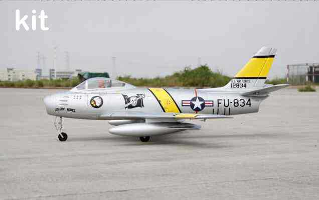 Freewing F-86 sabre 80mm edf jet plane kit format F86 RC aircraft EPO model aircraft(China (Mainland))