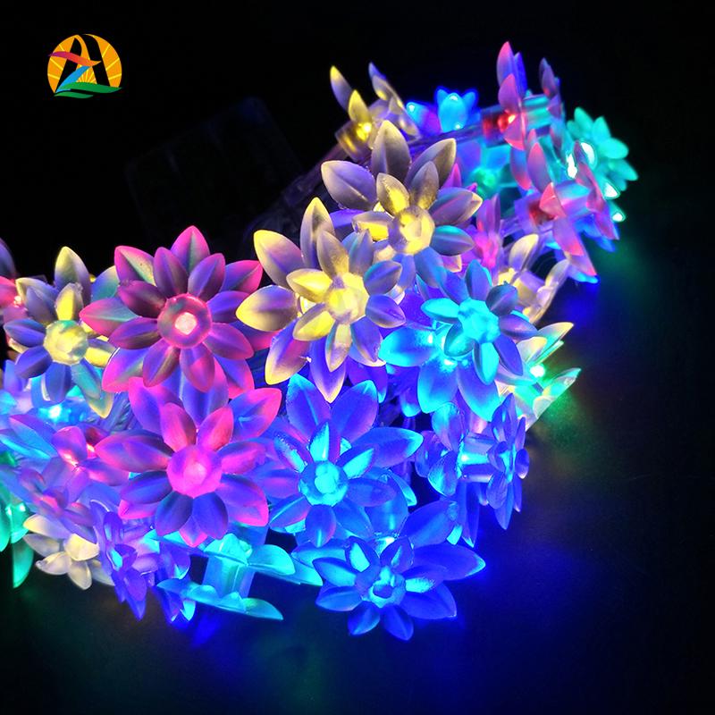 2016 LED Novelty Lotus Festival Decoration Strings Light For Wedding Holiday Birthday Decor. Lightings Lotus LED Svetla Luces(China (Mainland))