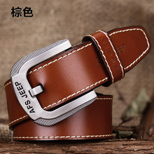AFS JEEP mens belts luxury pin buckle leather beltes designer belts men high quality