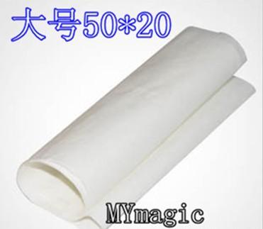 50 x 20 cm Large Flash paper (20pcs/lot) - accessory , coin magic ,fire magic,magic tricks,fire,props,dice,comedy,mental magic(China (Mainland))