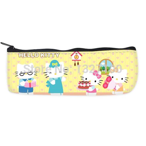 Customized Hello Kitty Pencil Case Pop Style(China (Mainland))