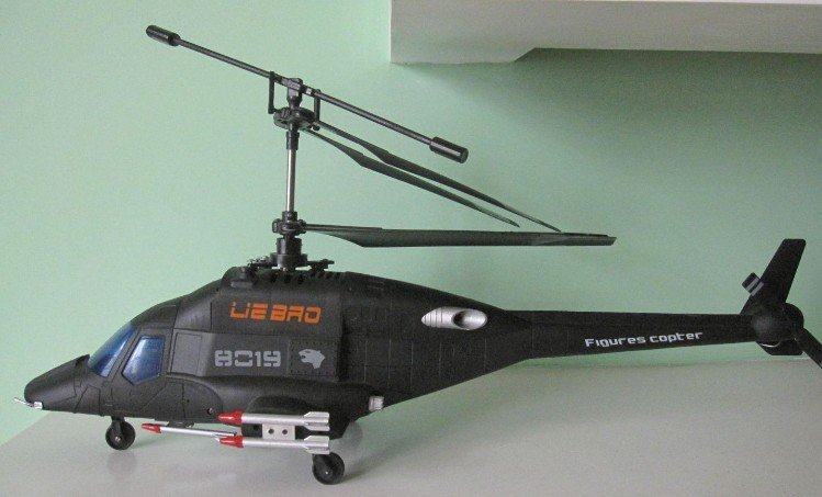4 CH with GYRO RC Helicopter model RC Air Wolf Aircraft (lithium battery)(China (Mainland))