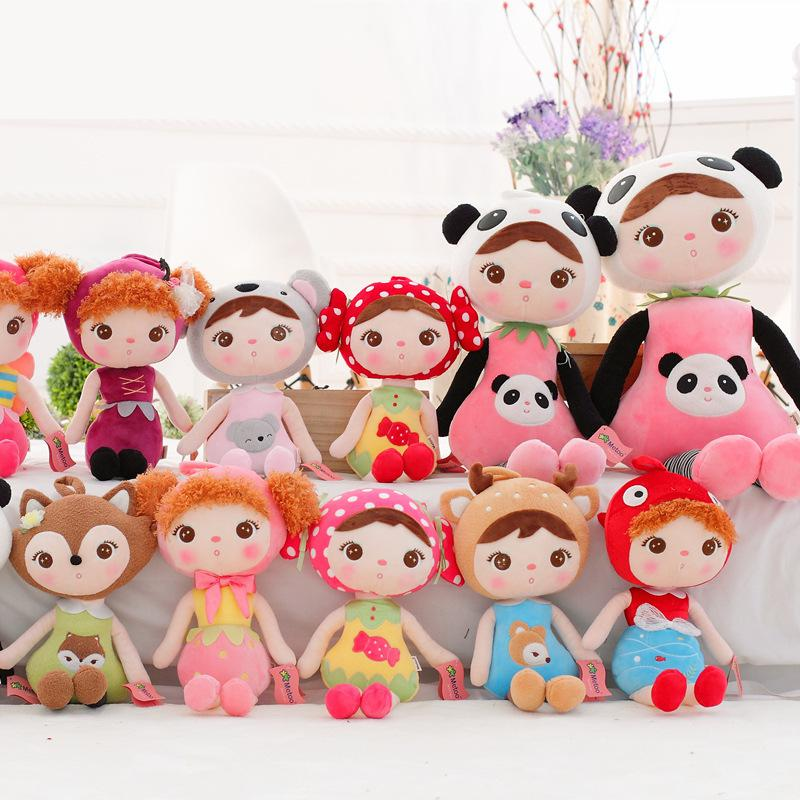 Hot 22CM Super Cute Metoo Angela Soft Plush Stuffed Animal Doll Baby Toy Keychain Children Christmas Birthday Gifts for Girls(China (Mainland))