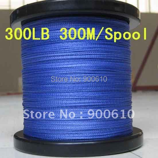 Super Strong 100% UHMWPE 8-Braid Fishing Line 300LB 1.1MM 300M/Reel Free Shipping