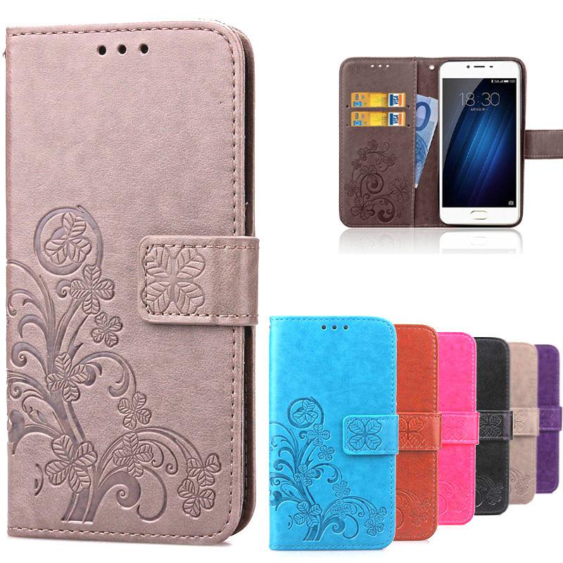 Meizu M3S Case M3S Mini Luxury Retro Leather + Soft Silicon Stand Card Holder Wallet Flip Case For Meizu M3 S Mini Cover