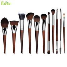 Buy 2016 Hot 1pcs Cosmetic Makeup Brush Eyeshadow Eyeliner Eyebrow Blush Lip Foundation Brush Redwood Makeup Brushes Make for $1.59 in AliExpress store