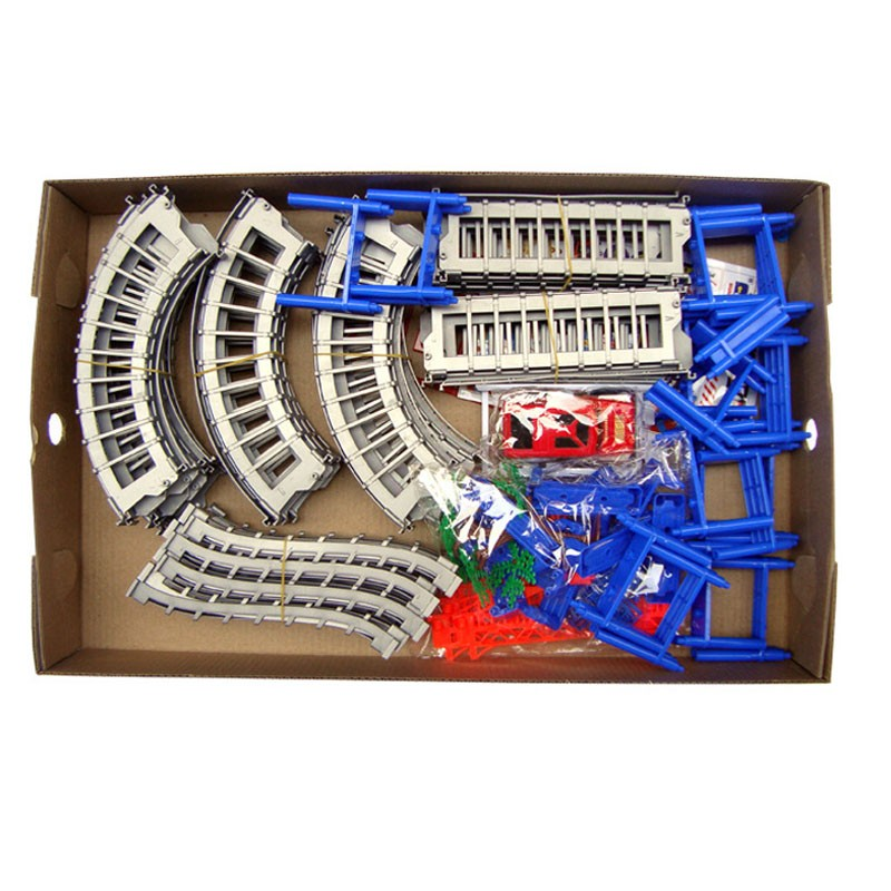 140pcs 3D Multi-layer Spiral Monitor Curler Coaster Toy Electrical Rail Automobile As Youngsters Present ABS Assembled Rail Automobiles Marble Race
