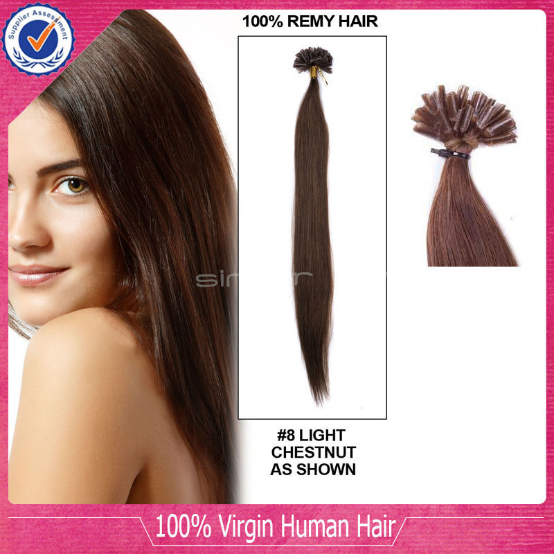 Wholesale U Tip Hair Extension 10-26inch Nail tip Hair Extension 100g/pack Straight U Tip Brazilian Remy Human Hair Extension<br><br>Aliexpress